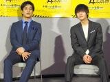 ドラマでコンビを組む(左から)北村一輝、窪田正孝 (C)ORICON NewS inc.