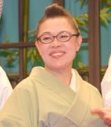 舞台『わらいのまち』公開ゲネプロ後の囲み取材に出席した柴田理恵 (C)ORICON NewS inc.