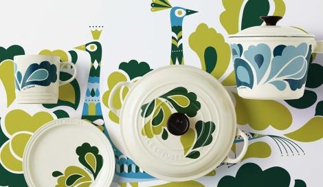 サムネイル ル・クルーゼの新コレクション「Peacock Palette」