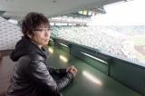取材の旅に先駆けて甲子園でセンバツ高校野球を観戦(C)ABC