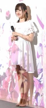 『お花見 CHANDON イベント 2017 プレスイベント』に出席した菊地亜美 (C)ORICON NewS inc.