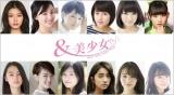 若手女優12人が主演するオムニバスドラマ『&美少女〜NEXT GIRL meets Tokyo〜』(C)フジテレビ