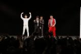 NON STYLEの井上裕介(左から2人目)の復帰舞台となったイベント『ノンスタ石田with初恋タローのゴリゴリライブ』の風景
