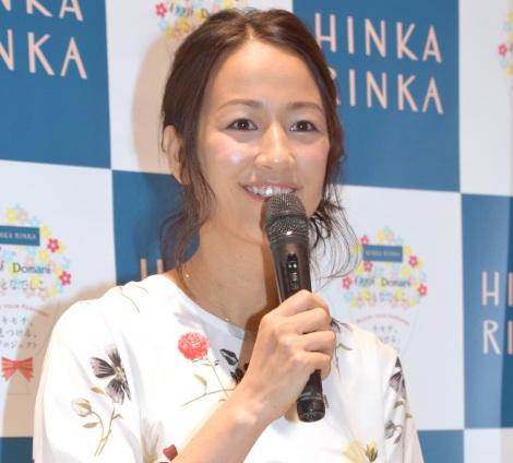4年ぶり公の場に登場した前田有紀さん=セレクトストア『HINKA RINKA』の1周年記念トークショー (C)ORICON NewS inc.