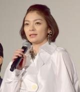 映画『たたら侍』の完成披露試写会に出席した田畑智子 (C)ORICON NewS inc.