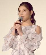 映画『たたら侍』の完成披露試写会に出席した石井杏奈 (C)ORICON NewS inc.