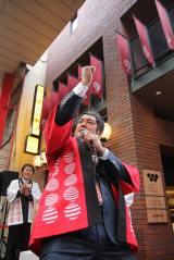 『浅草九倶楽部』開業イベントに登場した高田延彦