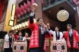 『浅草九倶楽部』開業イベントに出席した高田延彦