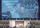 総選挙の公約「熱湯CM&生着替え」を披露した指原莉乃=『春の関東ツアー2017 〜本気のアイドルを見せてやる〜』の埼玉公演・夜の部 (C)ORICON NewS inc.