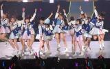 「桜、みんなで食べた」=『春の関東ツアー2017 〜本気のアイドルを見せてやる〜』の埼玉公演・夜の部 (C)ORICON NewS inc.