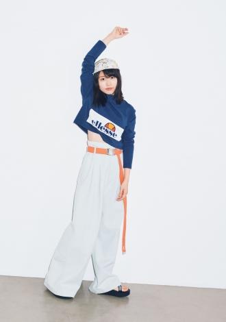 サムネイル 春スタイルを華麗に着こなした有村架純=『mini』5月号より(宝島社)