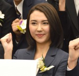 TBSテレビ入社式に出席した2017年度入社・山形純菜アナウンサー (C)ORICON NewS inc.