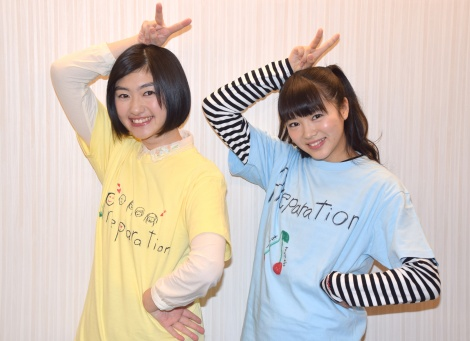 私立恵比寿中学(左から)小林歌穂、中山莉子 (C)ORICON NewS inc.
