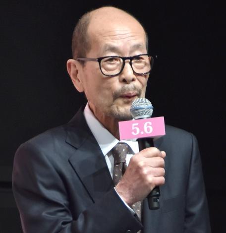映画『追憶』完成披露会見に出席した降旗康男監督 (C)ORICON NewS inc.