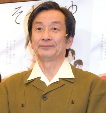 舞台『それいゆ』公開ゲネプロ前の囲み取材に出席した佐戸井けん太 (C)ORICON NewS inc.