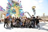 関西テレビ『NMBとまなぶくん』(毎週木曜 深夜※関西ローカル)ではNMB48のメンバーがUSJを私服で満喫 (C)関西テレビ
