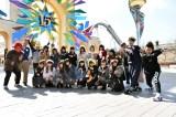関西テレビ『NMBとまなぶくん』(毎週木曜 深夜※関西ローカル)ではNMB48のメンバーがスタジオを飛び出しUSJへ (C)関西テレビ