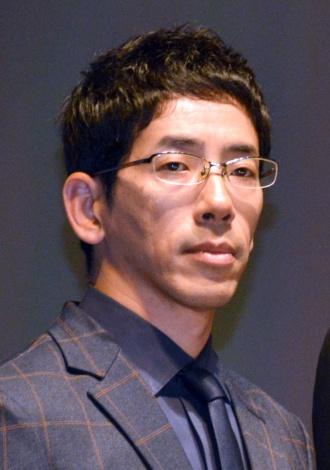 『CRISIS 公安機動捜査隊特捜班』の制作発表に登場した野間口徹 (C)ORICON NewS inc.