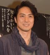 舞台『フェードル』の公開フォトコールに出席した平岳大 (C)ORICON NewS inc.
