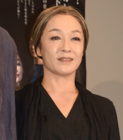 舞台『フェードル』の公開フォトコールに出席したキムラ緑子 (C)ORICON NewS inc.