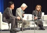 YOSHIKI(右)&小泉元首相がスペシャルトーク (C)ORICON NewS inc.