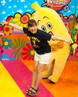 マスコットキャラ『ナナナ』の誕生日会に出席したテレビ東京・狩野恵里アナ (C)ORICON NewS inc.