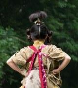 NHK・大河ドラマ『おんな城主 直虎』で竜宮小僧が初登場。演じているのは直虎の少女時代を演じた新井美羽(C)NHK