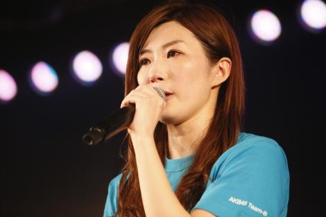 卒業を発表した田名部生来=AKB48『3期生10周年公演』  (C)AKS
