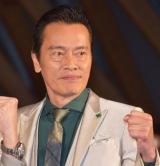 『ガーディアンズ・オブ・ギャラクシー:リミックス』のギャラクシー・カーペット・イベントに出席した遠藤憲一
