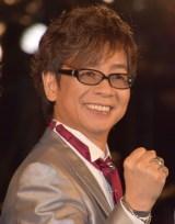 『ガーディアンズ・オブ・ギャラクシー:リミックス』のギャラクシー・カーペット・イベントに出席した山寺宏一