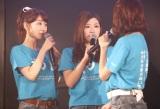 卒業を発表した田名部生来(中央)=AKB48『3期生10周年公演』  (C)AKS