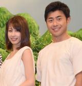 (左から)加藤綾子、榎並大二郎 (C)ORICON NewS inc.