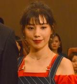 TBS『あなたのことはそれほど』の完成披露舞台あいさつに登壇した仲里依紗 (C)ORICON NewS inc.