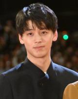 『帝一の國』完成披露舞台あいさつに出席した竹内涼真 (C)ORICON NewS inc.