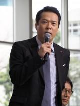 ドラマ『緊急取調室』制作発表会見に出席した田中哲司 (C)ORICON NewS inc.