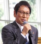 ドラマ『緊急取調室』制作発表会見に出席した大杉漣 (C)ORICON NewS inc.