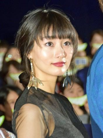 映画『キセキ -あの日のソビト-』初日舞台あいさつに登壇した忽那汐里 (C)ORICON NewS inc.
