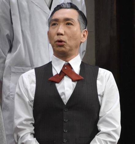 舞台『リメンバーミー』に出演する梶原善 (C)ORICON NewS inc.