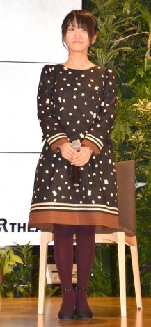 『コワイコエ〜稲川淳二のお葬式〜』の制作発表会見に参加した藤田咲 (C)ORICON NewS inc.