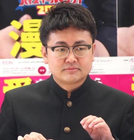 『ハイスクールマンザイ2017〜H-1甲子園〜』開催発表会見に出席した銀シャリ・橋本直