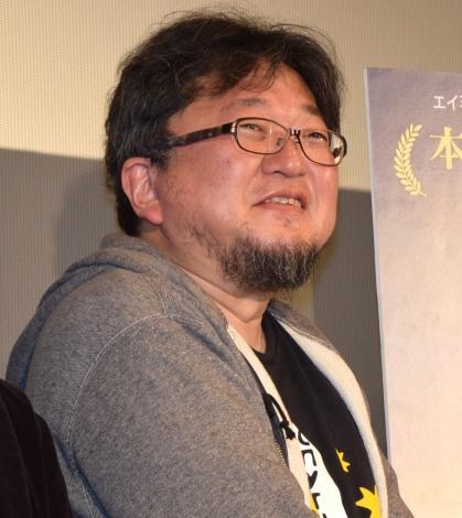 最新作『メッセージ』のスペシャル会見に出席した樋口真嗣監督 (C)ORICON NewS inc.