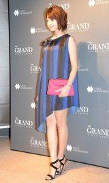 多目的ラウンジ『THE GRAND GINZA』オープニングレセプションパーティーに来場した中村静香 (C)ORICON NewS inc.