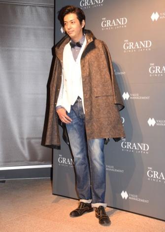 多目的ラウンジ『THE GRAND GINZA』オープニングレセプションパーティーに来場した敦士 (C)ORICON NewS inc.