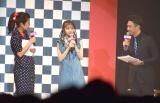 『sweet』専属モデルオーディションに登場した乃木坂46・齋藤飛鳥(中央) (C)ORICON NewS inc.