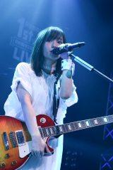 新曲2曲も初披露 撮影:佐藤友昭(C)AbemaTV 1st ANNIVERSARY LIVE