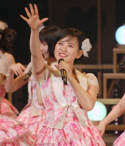 2ヶ月ぶりにステージ復帰したHKT48・兒玉遥 (C)ORICON NewS inc.
