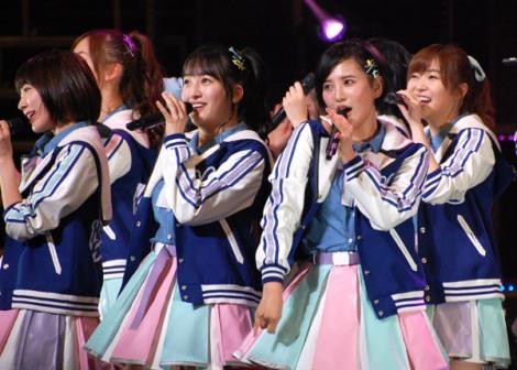 『HKT48 春の関東ツアー2017 〜本気のアイドルを見せてやる〜』最終公演の模様 (C)ORICON NewS inc.