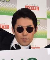 中田敦彦(オリエンタルラジオ)=ロッテ『ACUO』の新CMお披露目イベント (C)ORICON NewS inc.