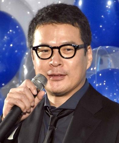 映画『夜空はいつでも最高密度の青色だ』完成披露舞台あいさつに登壇した田中哲司 (C)ORICON NewS inc.