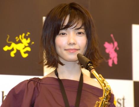 AKB48卒業後、初めて公の場に登場した島崎遥香=『ブラスト!:ミュージック・オブ・ディズニー』応援サポーター就任会見 (C)ORICON NewS inc.
